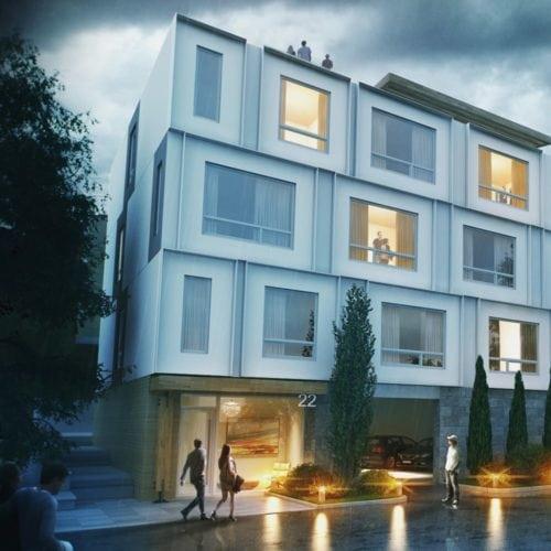 Ottawa Lebreton Flats condo building Edge exterior