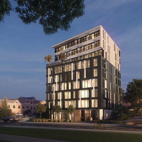 Ottawa condo building Westboro Lofts exterior